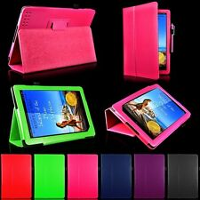 "PU Leather Folio Case Cover Stand W/ Holder For Barnes & Noble Nook HD 9"" 9inch"