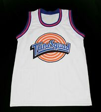 CUSTOM TUNE SQUAD SPACE JAM MOVIE JERSEY WHITE CUSTOM NAME & # XS - 5XL