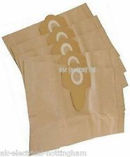 Dust Bag Paper Einhell Wet & Dry Vacuum Cleaner Replacement 20L x 5 NEW