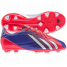 adidas F 10 TRX FG MESSI 2013 Soccer Shoes Red/ Fuchsia  Brand New  KIDS- YOUTH