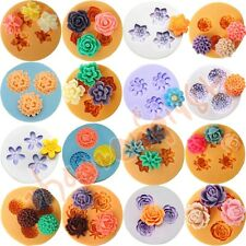 16 kinds Flower Silicone Mould for Polymer Clay Candy Cake Decorating Fondant