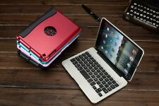 Bluetooth Wireless Keyboard with Stand Hard Removable Case Cover for iPad Mini