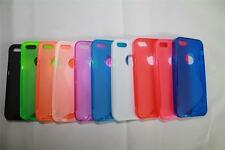 TPU S-Line S-Curve Skin Cover Soft Case Protective Shell for Apple iPhone 5 5g