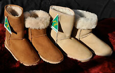 SHEEPSKIN BOOTS, 3/4 UNISEX CLASSIC   AUSTRALIAN MADE, FIRST GRADE SHEEPSKIN