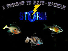 1 STORM Wildeye Live 2in & 3in, 3 Pack, You Pick Model,Fishing Lures