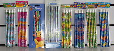 Fun 6 pack of PENCILS with Erasers or PENCIL SETS Animals, Monsters Zoo Fairies
