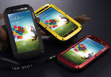 Aluminum Metal Case Shock/Dust/WaterProof Cover Skin for Samsung Galaxy S4 i9500