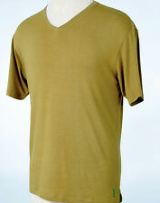 Bamboo Shirt Men's V-Neck Fitted T-shirt All Bamboo - Casualmere (#10145)