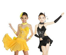 Kid's Child Latin Showing Dancewear Dress Tutus Dp035