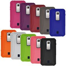 NEW AMER SOFT SILICONE SKIN GEL COVER CASE FIT FOR HUAWEI ASCEND M860