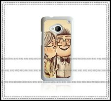 UP Disney Pixar FunnY Gift Kids Made For HTC ONE Black / White Hard Phone Case