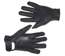 Hugger Seamless Motorcycle Biker Riding Waterproof Warm Leather Glove  Lined SRG