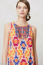 NEW Anthropologie Sequined Kaleidoscope Dress By Floreat, Silk, size 4 $188