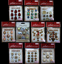 JOLEE'S JOLEES French General Parcel CHARMS Gems STONES Cameos STICKERS ONE PACK