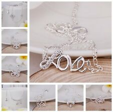 Free P&P 2013 XMAS GIFT Women's Silver Chain Anklet / Ankle Bracelet AD925 + BOX