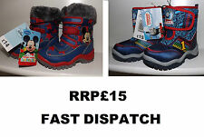 BNWT boys boots Thomas the tank engine/Mickey Mouse size 4/5/6/7/8 kids blue red