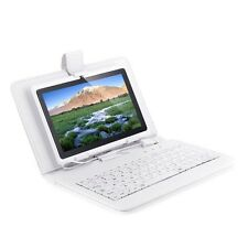 Leather Stand Cover Case with USB Keyboard for 7 inch MID Tablet PDA Android PC