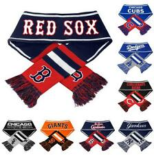 MLB 2013 Team Logo Stripe Wordmark Scarf - Cold Weather Apparel - Pick Your Team