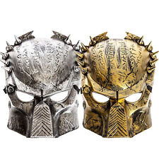 Predator Mask Silver Gold Halloween Costume TV Fancy Dress Party Masks Novelty