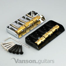 NEW Wilkinson WTBS Short Bridge for Tele®, Brass Saddles, Chrome or Black, WTB S