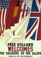 FREE HOLLAND WELCOMES THE SOLDIES OF THE ALLIES - 1944 - United Kingdom (SG1465)
