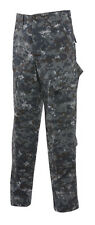 Tru-Spec Midnight Digital TRU 10 pocket Tactical Response Uniform pant 65/35 PC