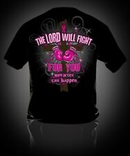 NEW Hot Gift Sweet Thing Fight Pink Ribbon Breast Cancer Girlie Bright T-Shirt
