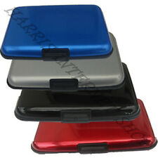 Aluminium Card Holder 4 Credit Debit Business Travel Train Ticket Money ID Cards