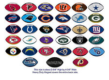 NFL Football Logo Magnets Officially Licensed Decal Complete Set of all 32 Teams