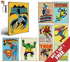MARVEL SUPER HERO AVENGERS THICK POSTERS Vintage Comic 30x21CM *BUY2 GET 1 FREE*