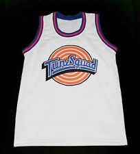 TAZ TUNE SQUAD SPACE JAM MOVIE JERSEY WHITE QUALITY NEW ANY SIZE XS - 5XL