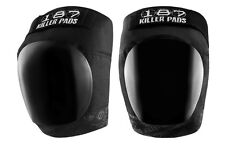 187 KILLER PADS - Pro Derby Knee Pads (NEW) - Black/Black