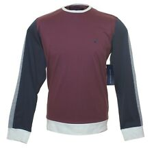 Bnwt Mens Fcuk French Connection Long Sleeved T Shirt Top RRP£40 Maroon New
