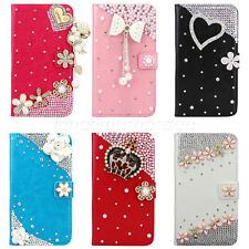 Flip Leather Bling Flower Wallet Case Cover For Samsung Galaxy Note 3 III N9000