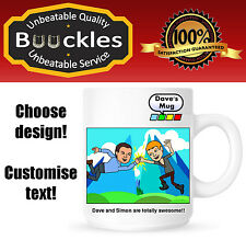 Bitstrips Cartoon Personalised Mug Gift Idea Christmas Birthday Cup Facebook