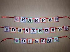 POCOYO  Birthday banner party favor personalized