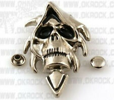 DIY hot exaggerate skeleton skull head rivets, clothing rivets, leather crafts