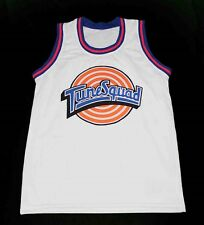 YOSEMITE SAM TUNE SQUAD SPACE JAM MOVIE JERSEY WHITE  NEW ANY SIZE XS - 5XL