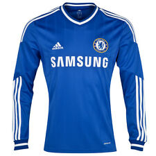 Official Men's adidas Chelsea Home Shirt 2013 - 2014 Long Sleeve, Size: XXL