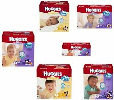 Huggies Snug & Dry Plus Nappies SIZE 1 2 3 4 5 6 - 156 228 210 180 162 135 Pack