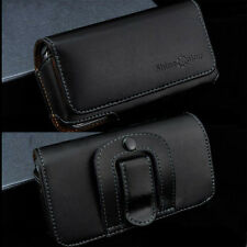 For iPhone Series Genuine Cowhide Leather Case Holst Belt Clip Pouch Cover