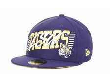 """New Era 59Fifty """"LSU Tigers Writers Block NCAA Fitted Cap"""" Hat $35"""