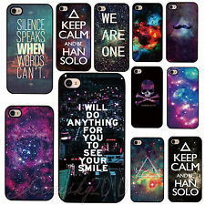 Space Galaxy Universe Snap On Back Skin Apple Hard Case Cover for IPhone 4 4S 5