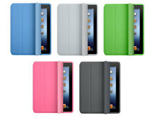 ULTRA THIN Smart magnetic stand Cover + hard Back Case for new iPad