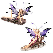Midnight Temptress Fairy – Bewitched - Fantasy Ornament Statue Figure