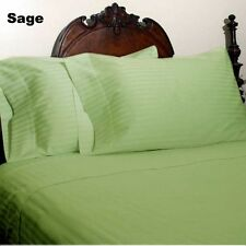 [ SAGE STRIPE ] COM.BEDDING COLLECTION 400TC 100% EGYPTIAN COTTON @ ALL SIZES