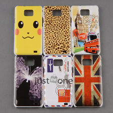 Hard Skin Case Cover Back Protective f Samsung i9100 Galaxy s ii Muli-Styles HOT
