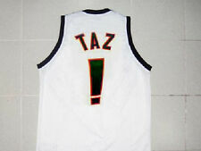 TAZ TUNE SQUAD SPACE JAM MOVIE JERSEY WHITE NEW ANY SIZE XS - 5XL
