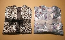 LADIES SATIN  LONG SLEEVE PYJAMA SET SIZES 8-10,12-14,16-18,20-22