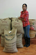 100 % Kona Coffee Beans Hawaiian Best Fresh Roasted Ground By Request 1 Pound